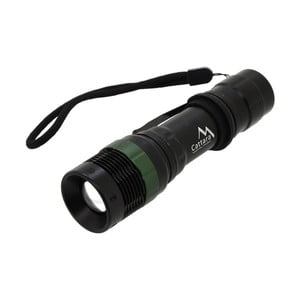Čierne vreckové LED svietidlo Cattara ZOOM