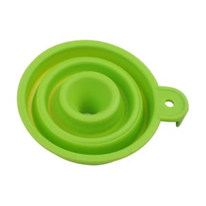 Zelený skladací lievik Bergner