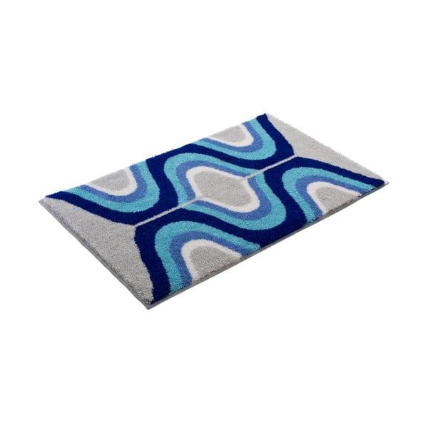 Kúpeľňová predložka Kolor My World XVII 60x100 cm, modrá