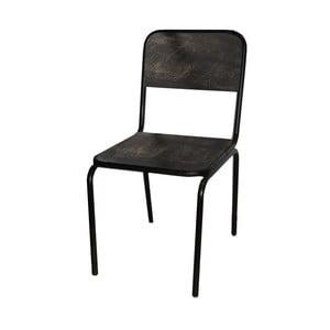 Jedálenská stolička Antic Line Industrielle Noir