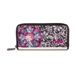 Peňaženka Lois Black, 19x10 cm