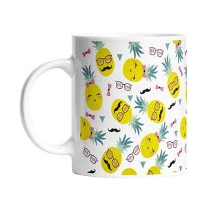 Keramický hrnček Mr and Mrs Pineapples, 330 ml