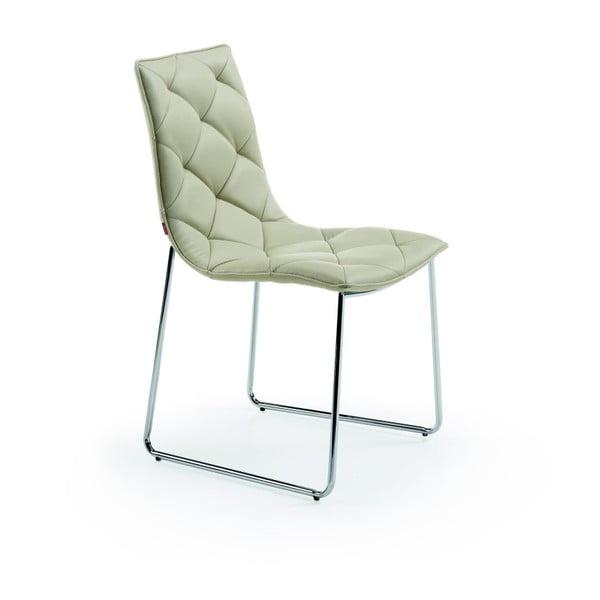 Stolička v perlovej farbe La Forma Baxter