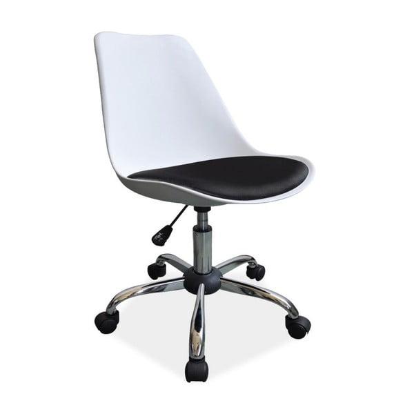 Pracovná stolička Office White/Black