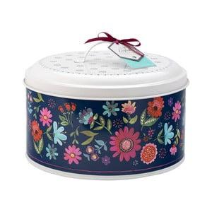 Modro-biely box na tortu David Masin Sabina, ⌀ 24,5 cm