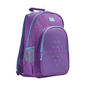Fialový školský batoh TINC Buds