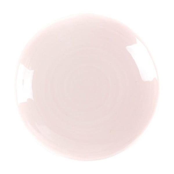 Dezertný tanier Earth 21 cm, ružový