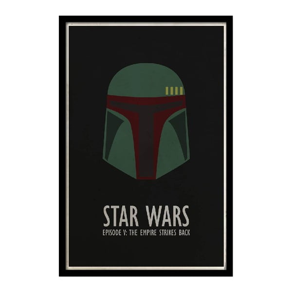 Plagát Star Wars V, 35x30 cm