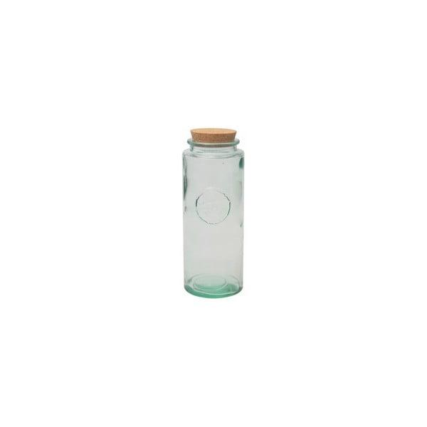 Sklenená dóza z recyklovaného skla Authentic, 1450 ml