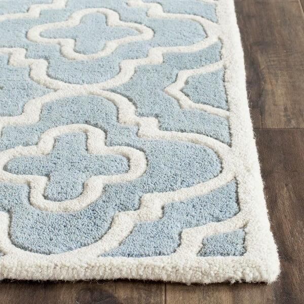 Vlnený koberec Alexa Blue, 152x243 cm