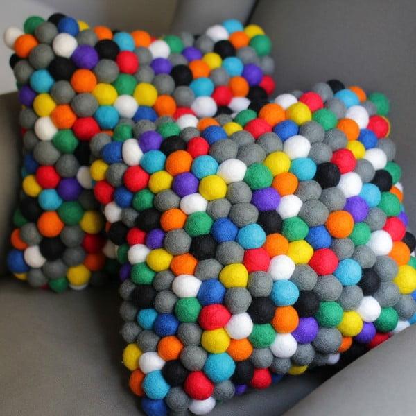 Ručne vyrobený guličkový vankúšik Happy Pills