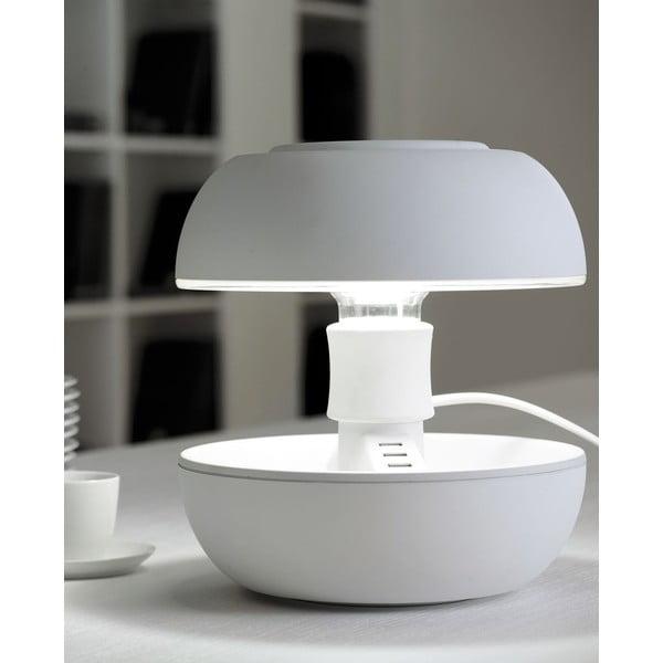Stolná lampa a nabíjačka v jednom Joyo Soft, biela