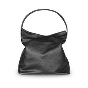 Čierna kabelka z pravej kože JOHN FISH Verse