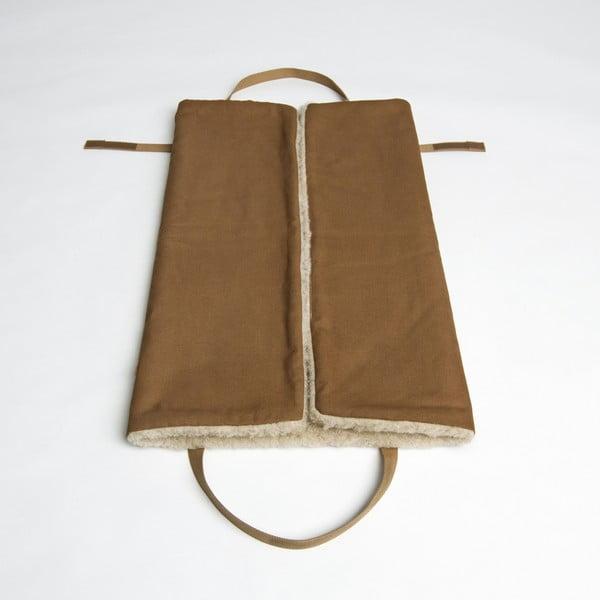 Rozkladacia taška/deka na psa Cloud7 M Hazelnut