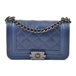 Modré kožené listové kabelky Isabella Rhea Lismo