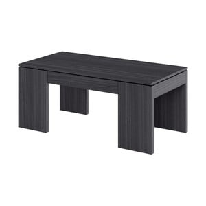 Sivý konferenčný stolík s úložným priestorom 13Casa Granada