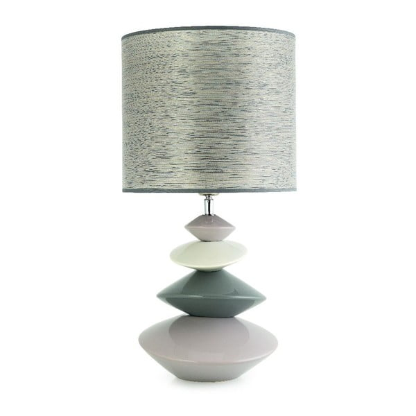 Stolová lampa Iza, svetlá