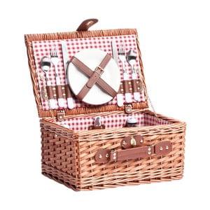 Piknikový kôš s riadom pre 2 osoby Basketis