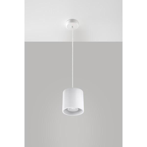 Biele závesné svetlo Nice Lamps Roda 1
