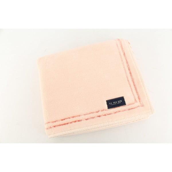 Ružová kúpeľňová predložka U.S. Polo Assn. Helena, 60x100 cm