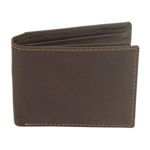 Hnedá kožená peňaženka Friedrich Lederwaren Stitch London