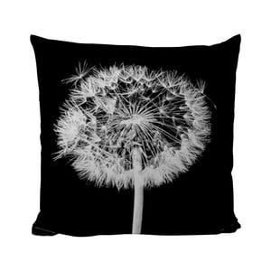 Vankúšik Black Shake Dandelion, 50x50 cm