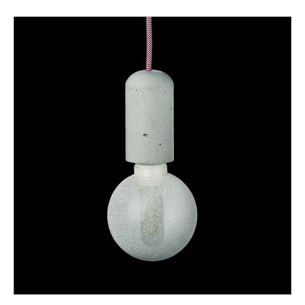 Červeno-biele svietidlo od Jakuba Velínského, 1,2 m