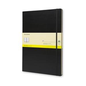 Čierny zápisník Moleskine Art Plain Book, A3
