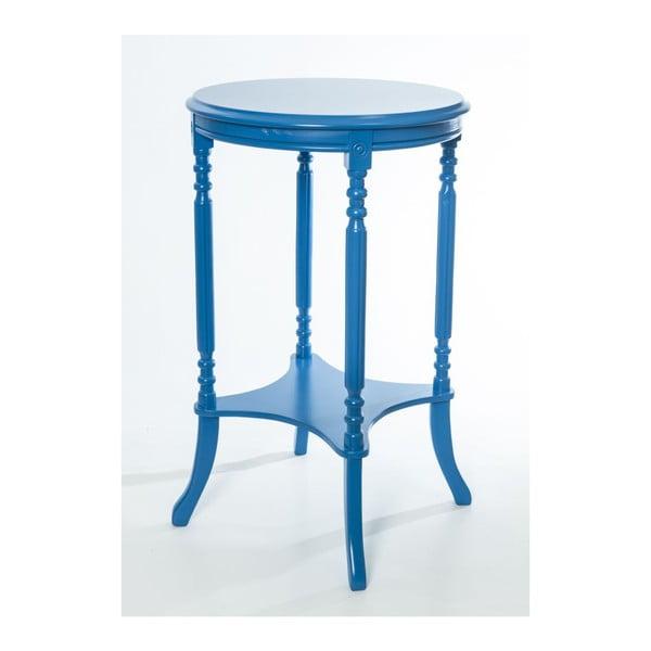 Odkladací stolík Legend Blue, 47x47x73 cm