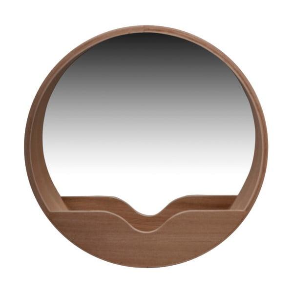Nástenné zrkadlo s odkladacím priestorom Zuiver Round Wall, ⌀ 60 cm