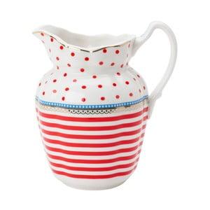 Porcelánový džbánik Happy od Lisbeth Dahl