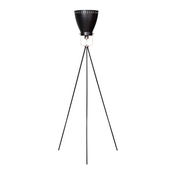 Stojacia lampa s trojnožkou a medenými detailmi ETH Acate Industri