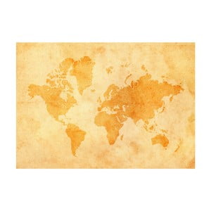 Tapeta Vintage World Map, 400x280 cm
