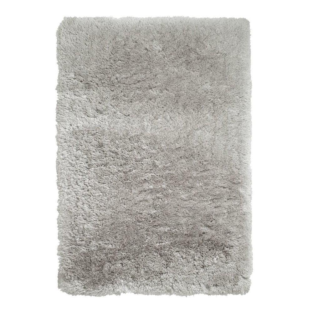 Svetlosivý ručne tuftovaný koberec Think Rugs Polar PL Light Grey, 120 × 170 cm