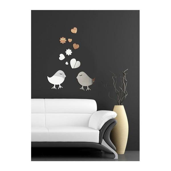 Dekoratívne zrkadlo Birds Love