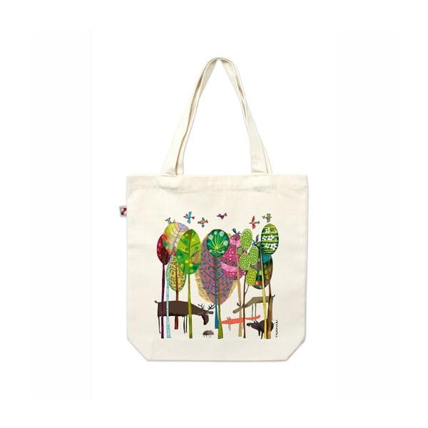 Plátenná taška V lese