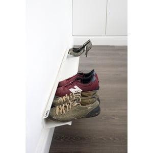 Polica na topánky J-ME Shoe Rack biela, 120 cm
