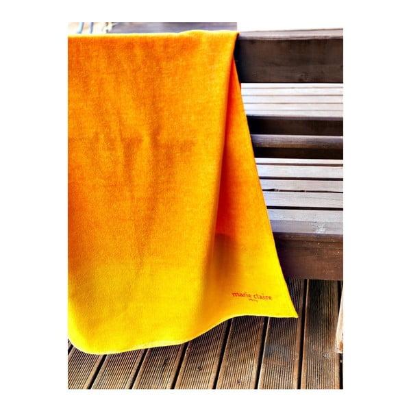 Osuška Orange Ombre, 75x150 cm