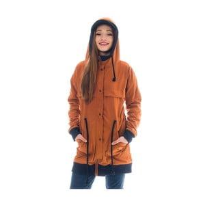 Tehlovočervená bunda Lull Loungewear Bahia Feliz, veľ.S