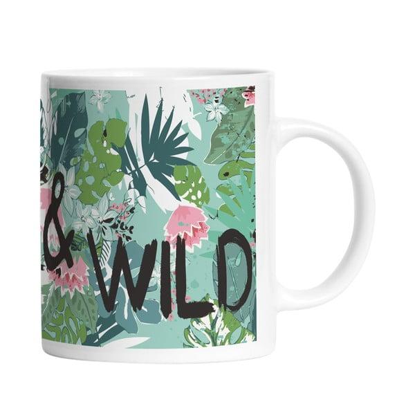 Keramický hrnček Free and Wild, 330 ml