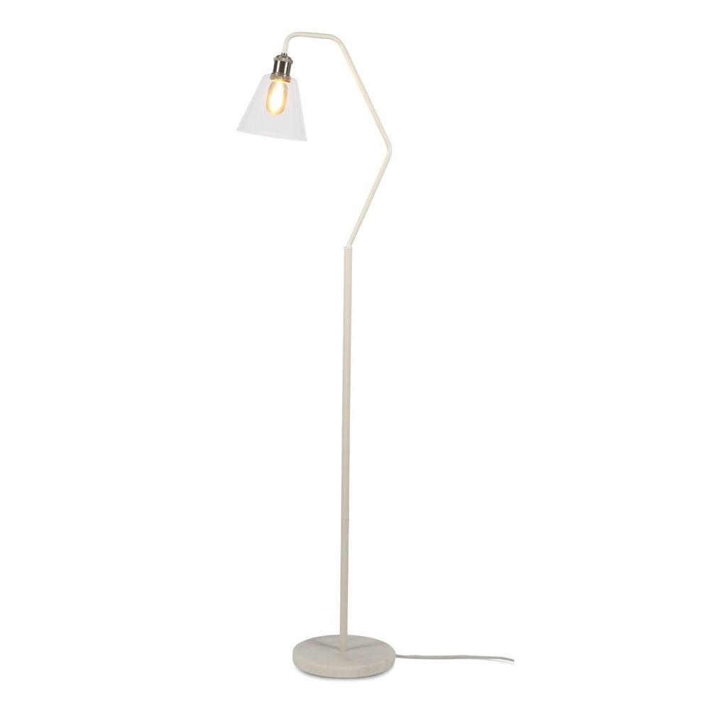 Biela stojacia lampa Citylights Paris, výška 150 cm