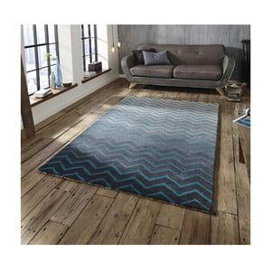 Modro-sivý koberec Think Rugs Spectrum Grey Blue, 120x170cm