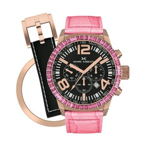 Dámske hodinky Marc Coblen s remienkom a krúžkom na ciferník naviac P28