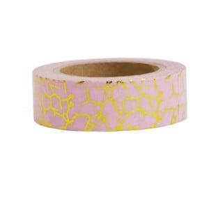Washi páska Ohh Deer Pink and Gold, 10 m