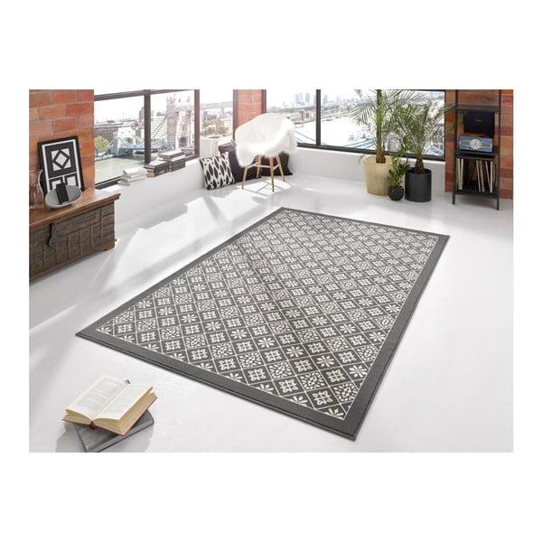 Sivo-béžový koberec Hanse Home Gloria Tile, 160x230cm