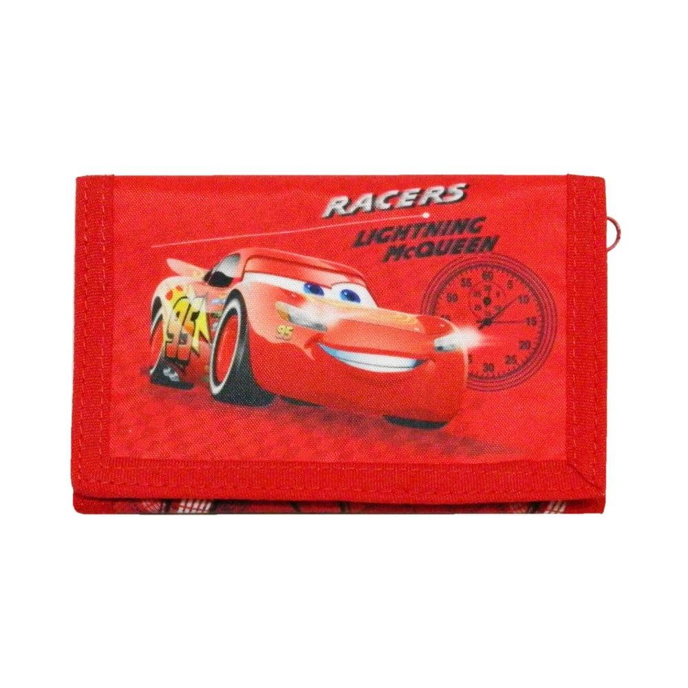Červená detská peňaženka Bagtrotter Cars