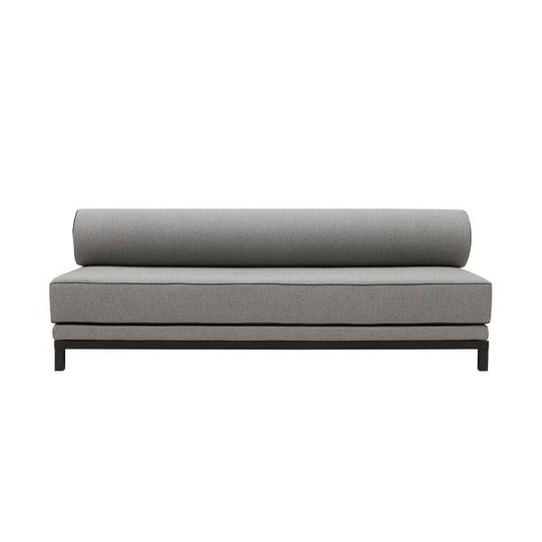 Sivá rozkladacia sedačka Softline Sleep