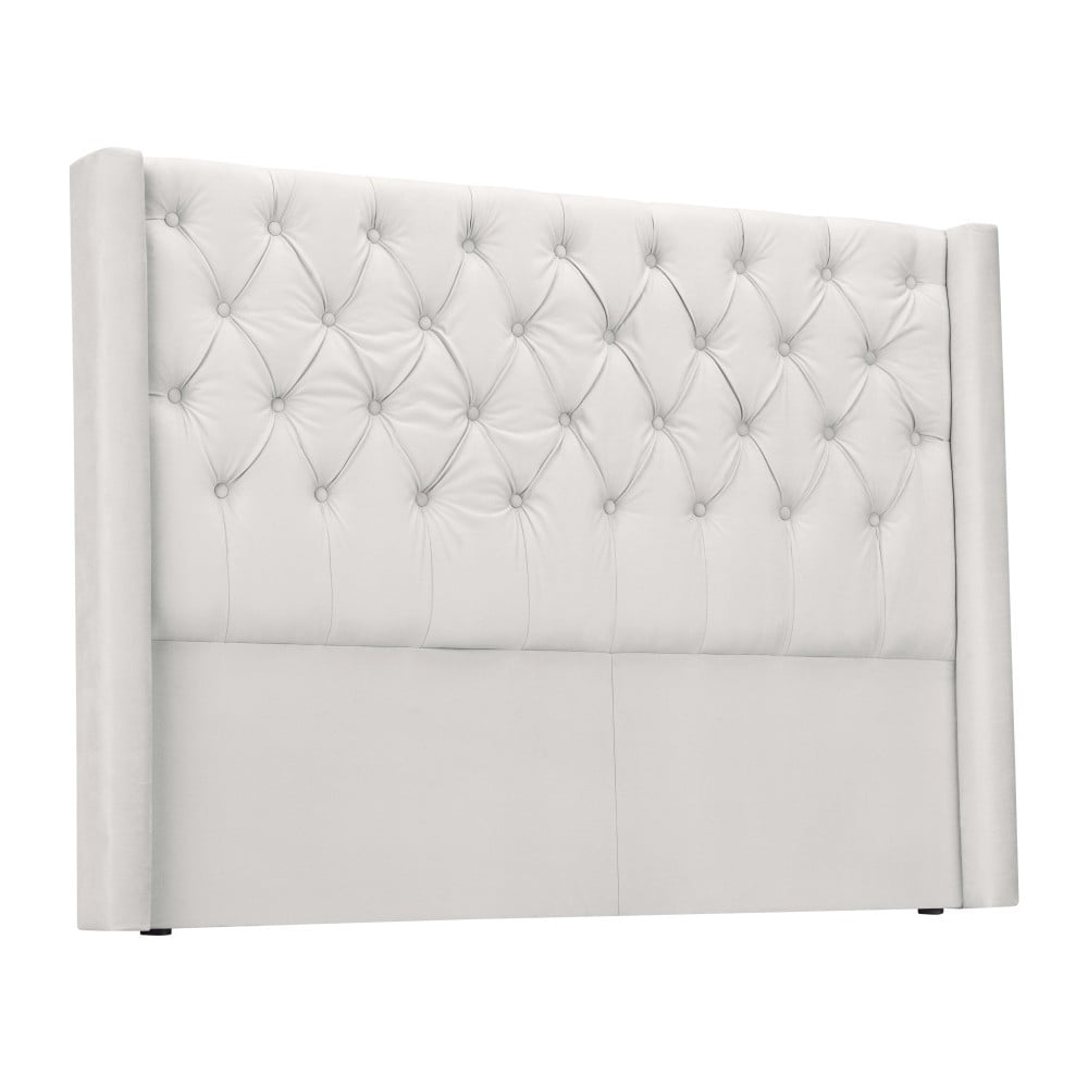 Biele čelo postele Windsor & Co Sofas Queen, 196 × 120 cm