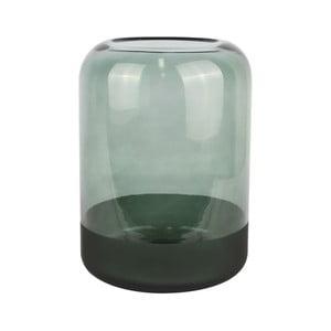 Zelená sklenená váza PT LIVING Majestic, výška 22 cm