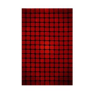 Koberec Bakero Casablanca Square 90x160 cm, červený